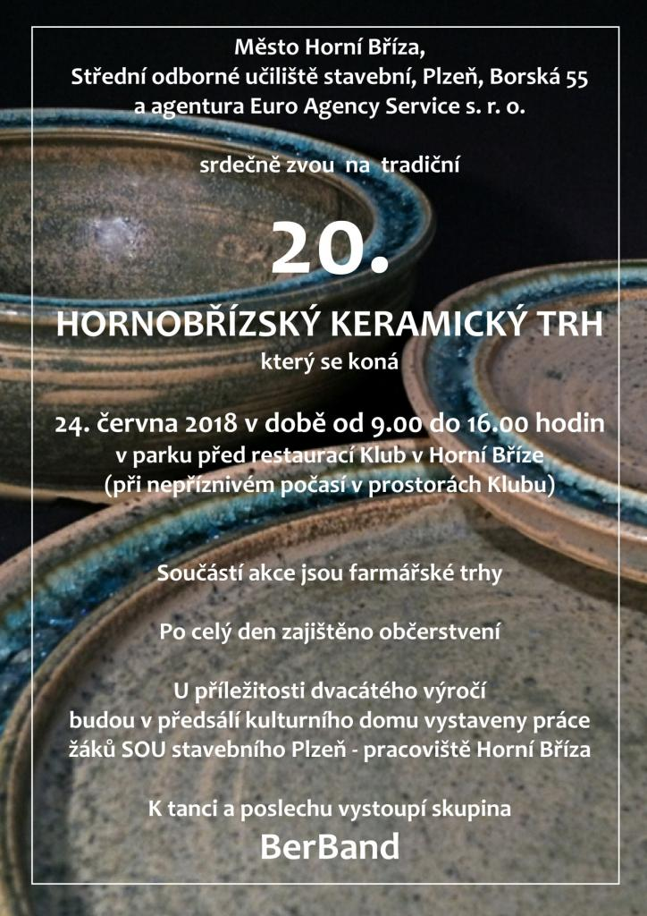 20. Hornobřízský keramický trh